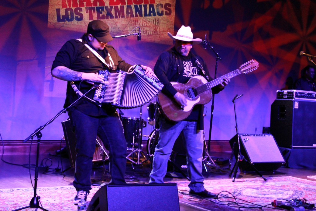Took this shot at a Los Texmaniacs show last month.