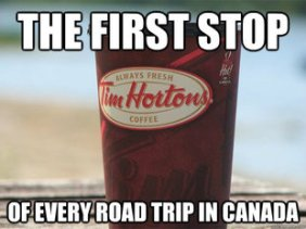 Some states actually have these now, too, but it's still a Canadian thang.
