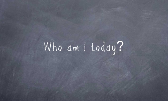 Who i am today