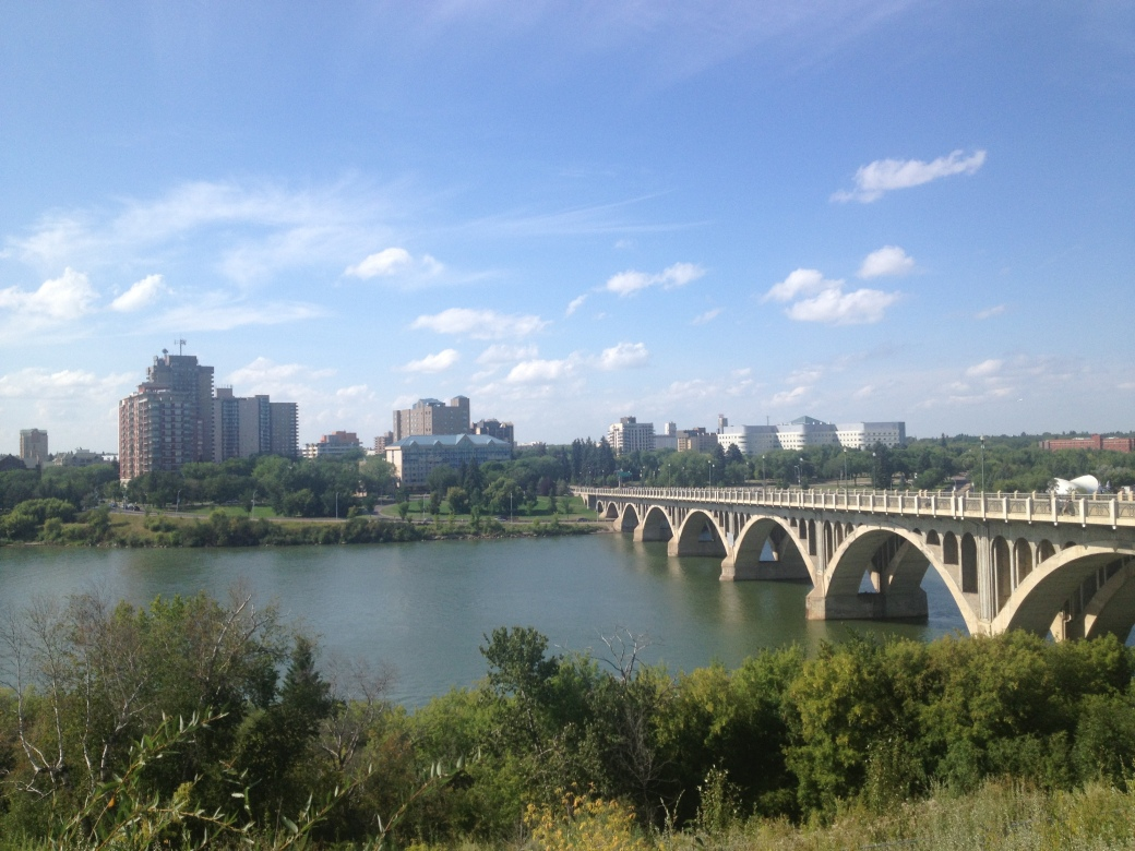 Also, Saskatoon is SUPER pretty.